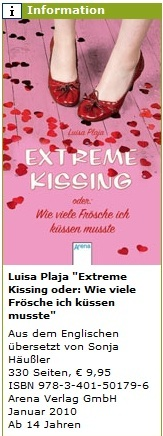 German Extreme Kissing info