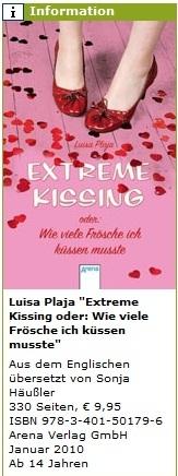 German Extreme Kissing info